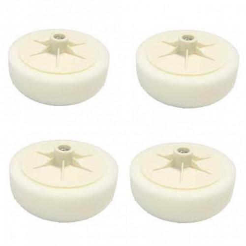 Magic 150mm Aplikatörlü Beyaz Pasta Süngeri - 4 ADET