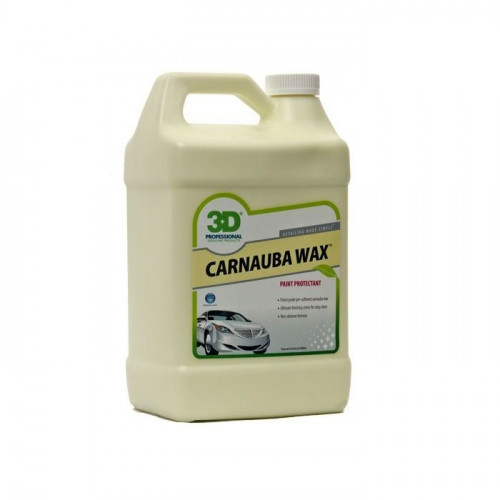 3D 908 Carnauba Wax - Islak Görünüm Veren WAX  - Made in USA 908G01