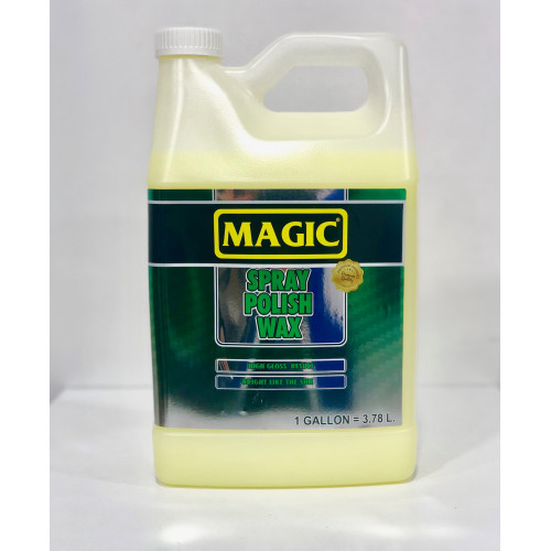 Magic Spray Polish & Wax - Sprey Hızlı Cila 3,78 Lt
