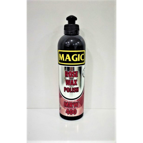 Magic Rose Wax Polish - Elle ve Makine ile Uygulanabilen Çok Parlak Son Kat Cila 400 ml