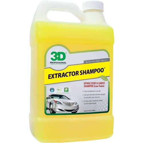 3D Extractor Shampoo 3.78 Lt - Made in USA