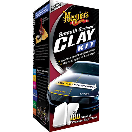 Meguiars Smooth Surface Clay Kit - Yüzey Temizleme Seti