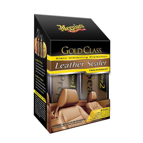 Meguiars Gold Class Leather Guard - Deri Döşeme Bakım ve Koruma Kiti