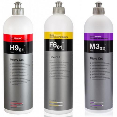 Koch Chemie H9 + F6 + M3 - Pasta Cila 3'lü Seti