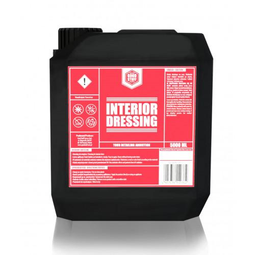 GOOD STUFF Interior Dressing Mat  – Doğal Görünüm Torpido Plastik Bakım Ürünü – 5 Litre