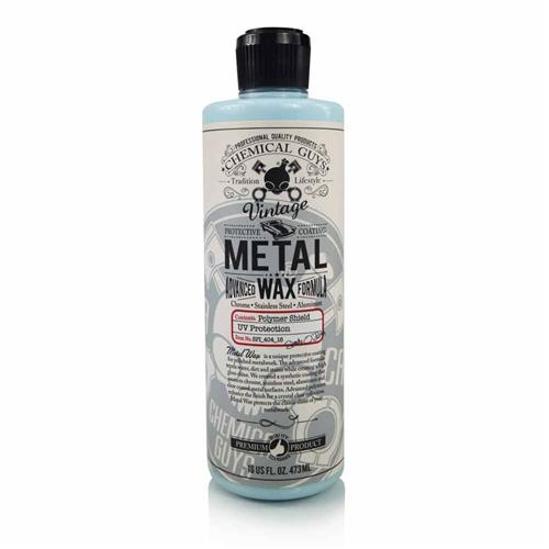 Chemical Guys Metal Wax Reformulated - Metal ve Krom Yüzey Koruyucu Wax 473 ml